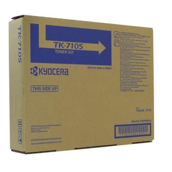 Тонер Kyocera TK-7105 черный для TASKalfa 3010i/3011i