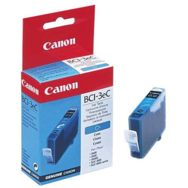 Картридж CANON BCI-3eC синий для BJC-6000/3000