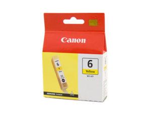 Картридж CANON BCI-6Y желтый для S-800/BJC-8200Ph