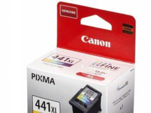 Картридж CANON CL-441XL увеличенный цветной для Pixma MG2140/3140