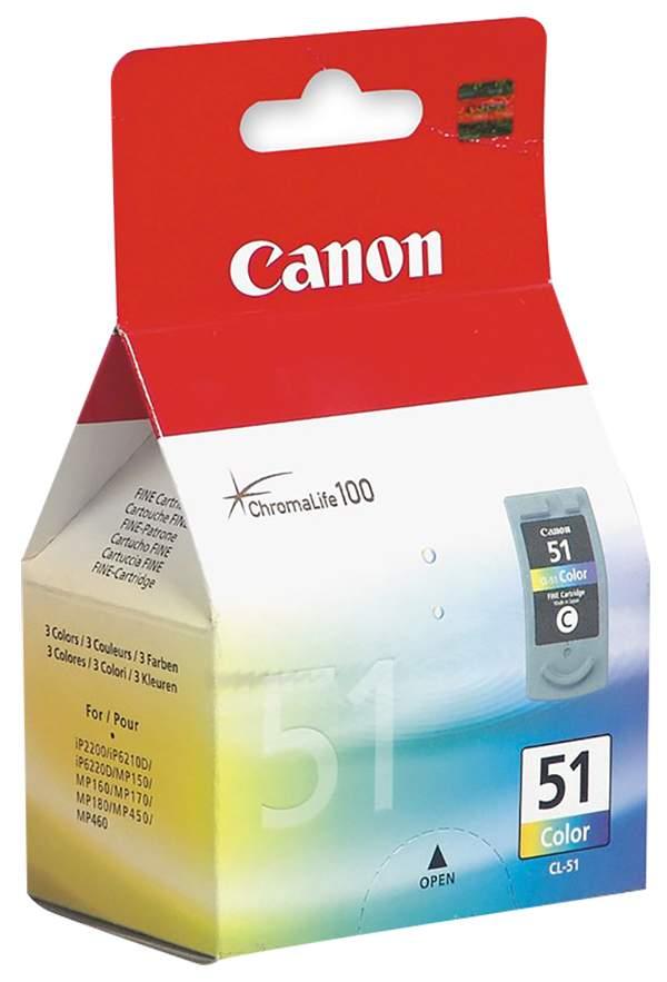 Картридж CANON CL-51 цветной для Pixma MP450 MP450