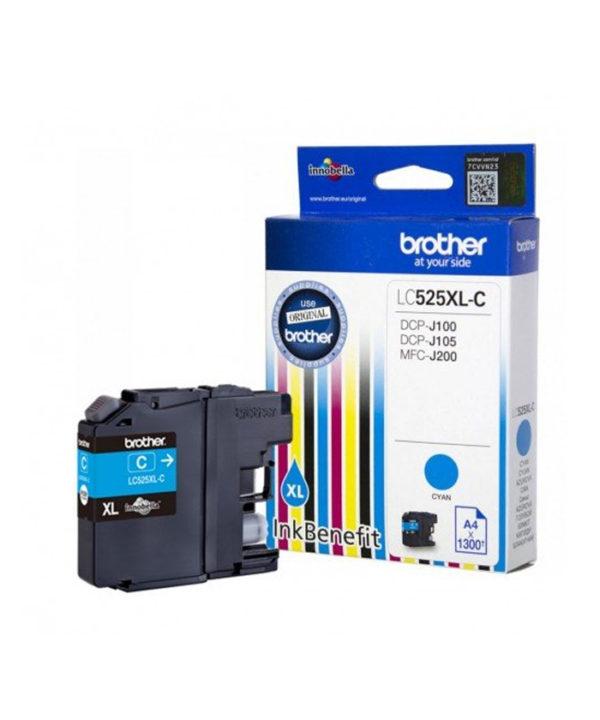 Картридж BROTHER LC525XLC DCP J100/J105/J200 Cyan