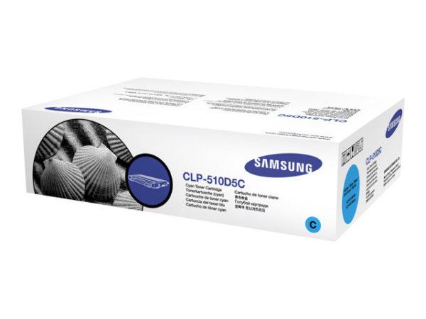 Картридж SAMSUNG CLP-510D5C синий для CLP-510/511/515