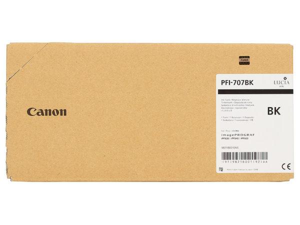 Картридж CANON PFI-707BK черный для iPF830/840/850