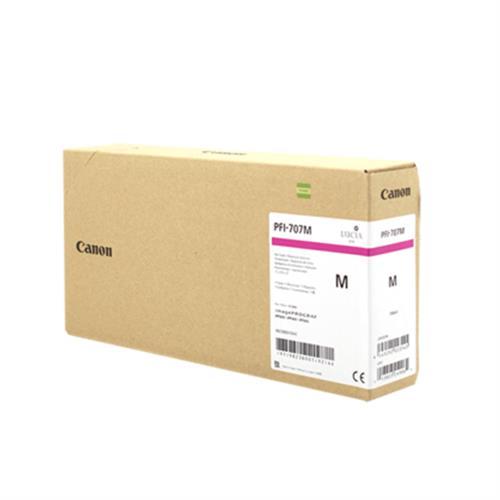 Картридж CANON PFI-707M малиновый для iPF830/840/850