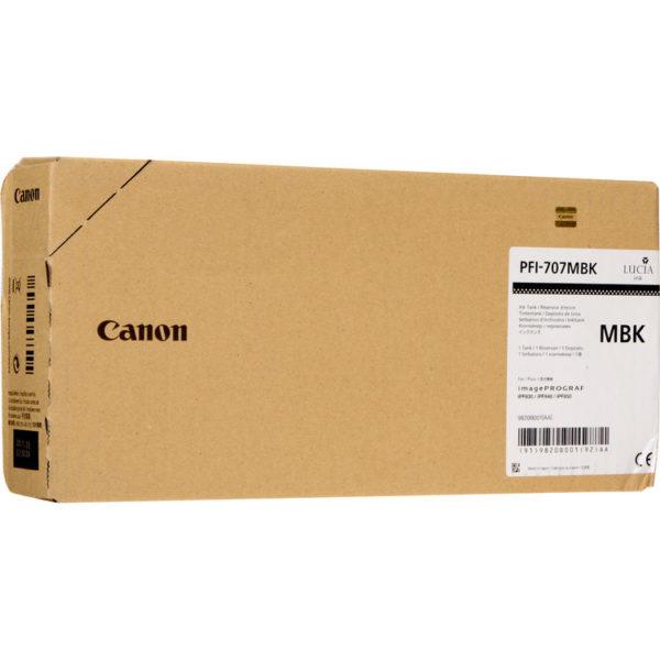 Картридж CANON PFI-707MBK матовый-черный для iPF830/840/850