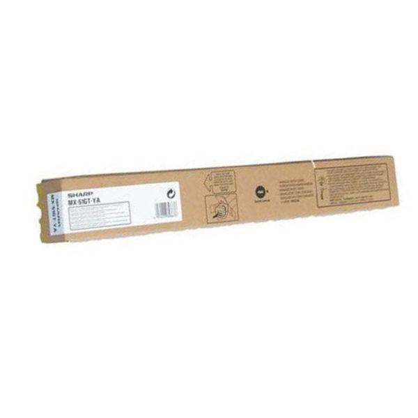 Картридж Sharp MX-51GTYA желтый для MX-4112/5112/MX4140/MX4141/MX5140/MX5141