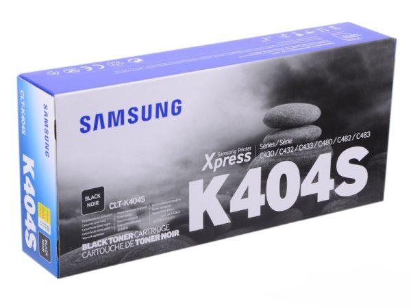 Картридж SAMSUNG CLT-K404S/XEV черный для SL-C430/C430W/C480/C480W/C480FW