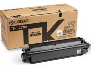 Тонер-картридж TK-5270K Черный P6230cdn/M6230cidn/M6630cidn (6000стр)