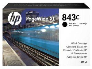 Картридж №843C C1Q65A черный для PageWide XL 4000, 4100, 4500, 4600, 5000, 5100